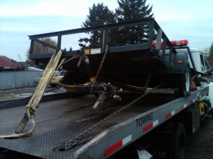 Towing Available for Smaller Damaged Trailers